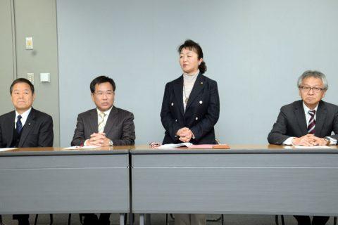 暮らしと生業守る政治へ 府議補選福知山市に大槻富美子氏が出馬表明