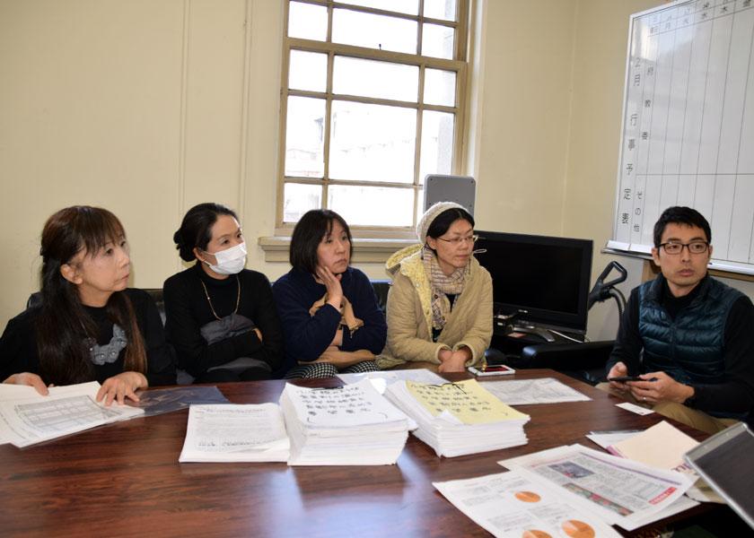中学生に全員制の温かい給食を 保護者ら「ALL京都」、府議会請願に向け会派要請