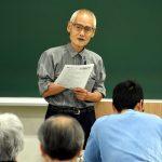 「小異を認め大同を願う市民運動こそ」槌田劭さんが京都大学で講演 戦後の激動と自身の半生振り返り語る