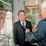 自民党員も「消費税増税やめて」 舞鶴市で商店街訪問に反響 共産党・ごの府議候補、舞鶴市議団