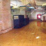 本館地下 浸水床一面に 京都市美術館改修工事 本紙情報公開請求で写真開示、床上5㌢~10㌢まで