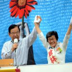 「働く人の悩みや苦労を聞く力を持ち、解決する政治家。京都と日本の『宝の議席』、倉林さんの勝利を。比例代表では日本共産党を第1党に押し上げて」志位委員長、京都市内4カ所で熱く訴え/参院選、明日21日投票日