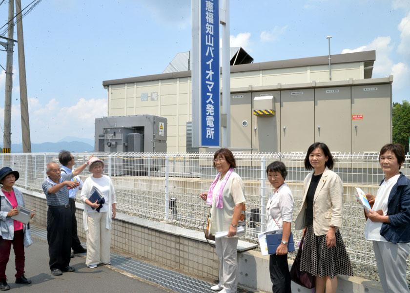 福知山市パーム油発電所