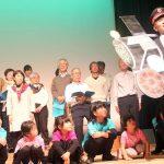 宮津市で「ぞうれっしゃ」コンサート 4歳から85歳まで51人が「出会えた幸せとすべての命に感謝込め」合唱 330人以上が来場