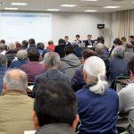 舞鶴市・パーム油発電計画 騒音・悪臭懸念、計画反対の意見が続出 市主催の説明会に136人参加/高校生も質問「なぜパーム油?」