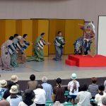 生の舞台に「鳥肌」 伝統芸能関係者が野外公演 茂山千五郎家が企画、230人が観劇