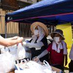 """コロナで困窮""""食材提供とても助かる"""" 北区・住民、学生有志が学生に無償配布"""
