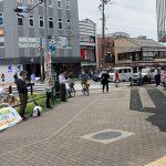 高齢者から医療奪うな 窓口負担2割化法案反対で京都医労連、京都民医連が街頭宣伝