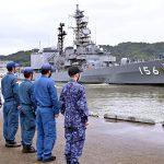 「NATO関係軍艦船の舞鶴寄港認めるな」「自衛隊との共同訓練中止を」 京都平和委員会、安保破棄京都などが知事、舞鶴地方総監に要請